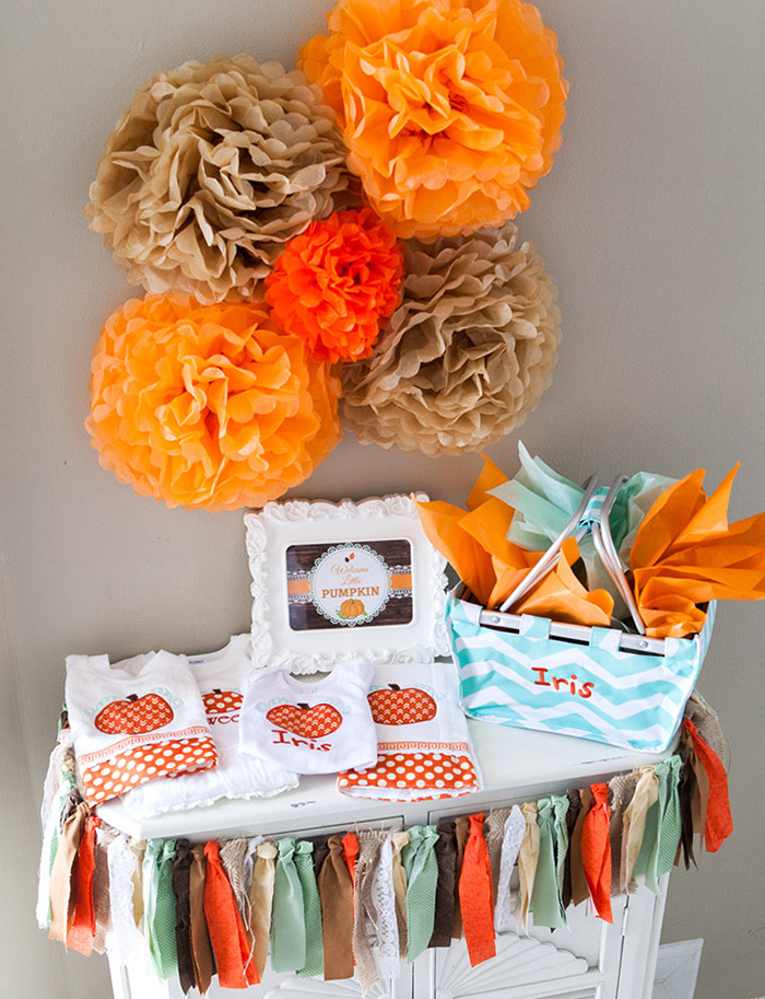 Rustic Little Pumpkin Baby Shower