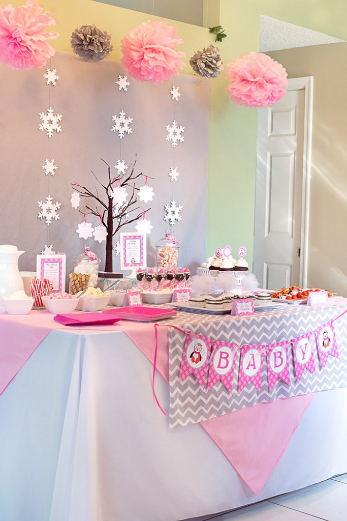 35 pretty winter baby shower ideas sortra