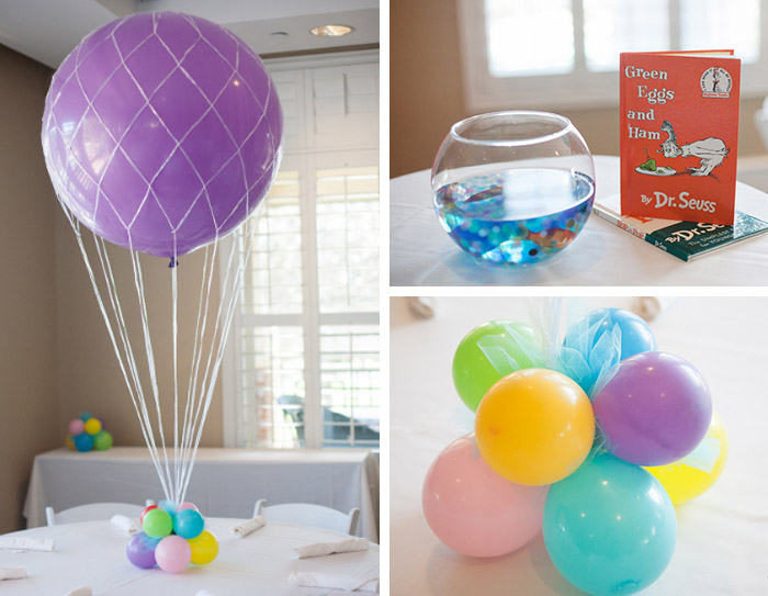 Dr seuss thing twin birthday party