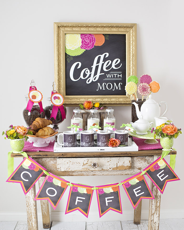 Mother's Day Coffee With Mom Celebration